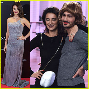Penelope Cruz Transforms Costar Chino Darin into a Sexy Woman