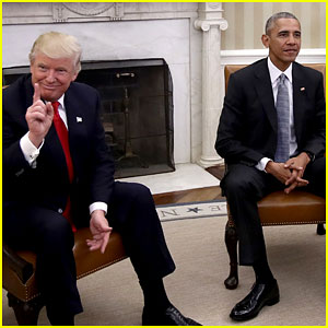 VIDEO: President Obama & Donald Trump Meet for First Time
