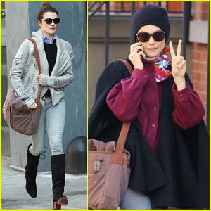 Rachel Weisz Bundles Up on Her Way to Work in NYC