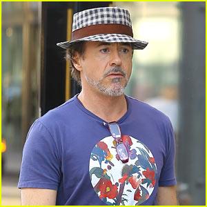 Robert Downey Jr Enjoys a Day Shopping in Beverly Hills