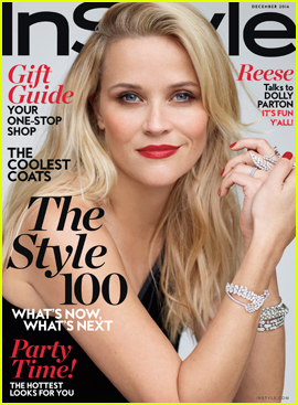 Reese Witherspoon Gets Interviewed by Dolly Parton For 'InStyle'