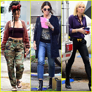 Rihanna, Sandra Bullock & Cate Blanchett Shoot New 'Ocean's Eight' Scenes in NYC