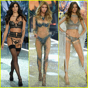 Sara Sampaio, Stella Maxwell, & Josephine Skriver Shine at the 2016 Victoria's Secret Fashion Show!