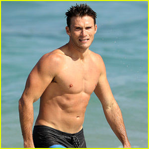 Scott Eastwood Goes Surfing in Hot New Shirtless Beach Photos!