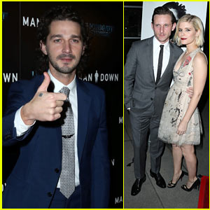 Shia LaBeouf & Kate Mara Premiere 'Man Down' in Hollywood