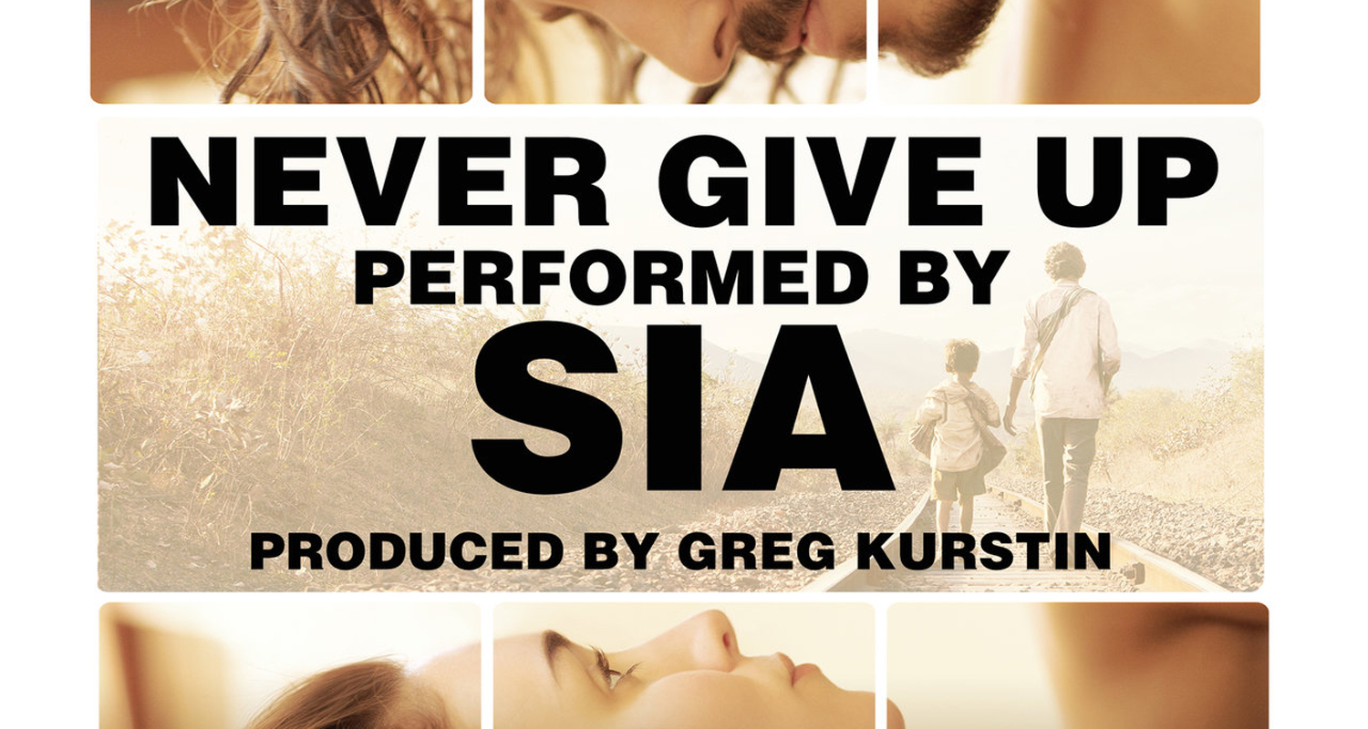 Sia Releases 'Lion' Theme Song 'Never Give Up' – Stream