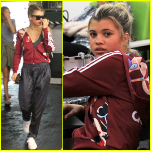 Sofia Richie Took on the Mannequin Challenge in a Club Full of People!