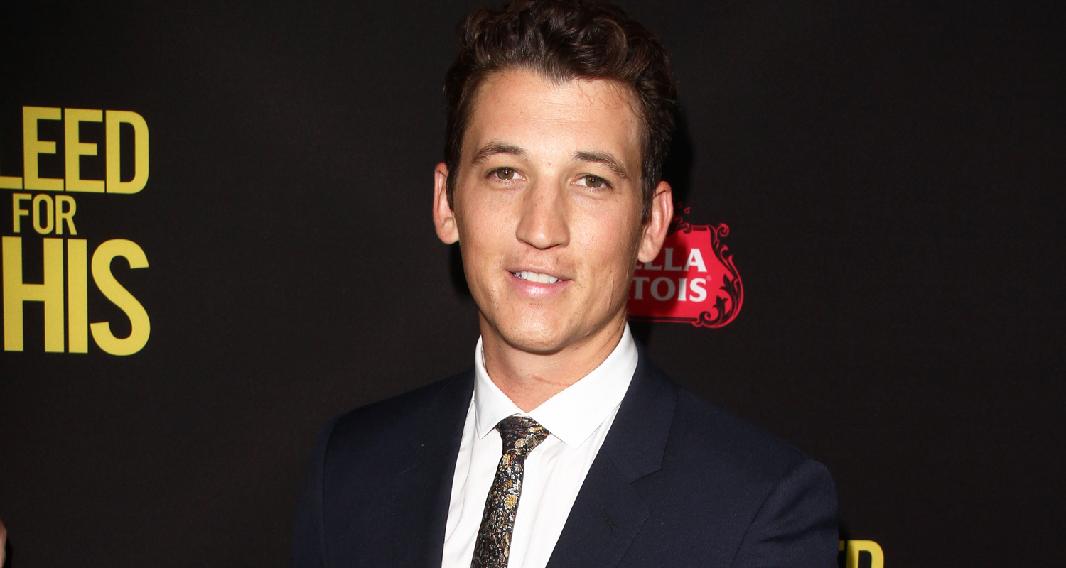 Miles Teller Gets Star Studded Support At Bleed For This