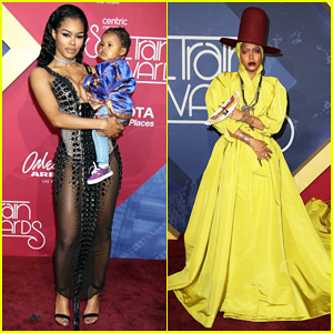 Teyana Taylor Brings Baby Girl Junie To Soul Train Awards 2016!