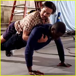 VIDEO: 'This Is Us' Men Recreate Jack & Randall's Push-Up Scene!