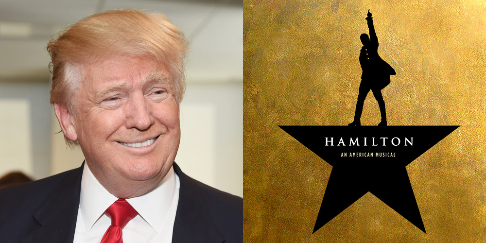 story donald trump demands apology from hamilton cast after plea