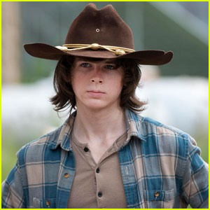Is Carl Getting Killed Off 'Walking Dead'? Chandler Riggs' Mom Weighs In!