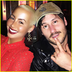 Amber Rose Seemingly Confirms Relationship With Val Chmerkovskiy
