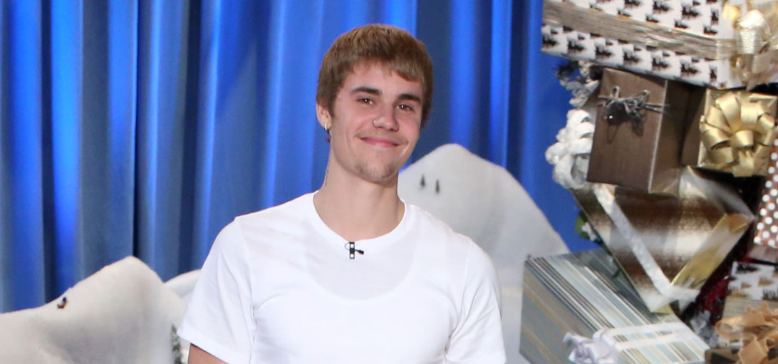 VIDEO: Justin Bieber Announces U S  Stadium Tour on 'Ellen