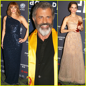 Bryce Dallas Howard, Hilary Swank & Mel Gibson Get Honored At Huading Global Film Awards 2016!