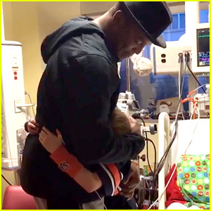 VIDEO: Cam Newton Surprises Little Boy in Hospital in Heartwarming Moment