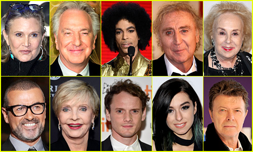 In Remembrance: Celebrity Deaths in 2016