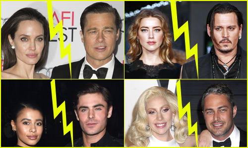 These Celeb Couples All Split in 2016, Prove Love is Dead