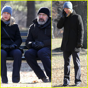Claire Danes and Mandy Patinkin Continue Filming Season Six of 'Homeland' in NYC