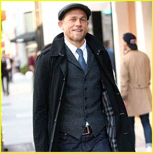 Dapper Charlie Hunnam Uses Rodeo Drive as His Runway!
