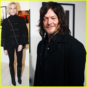 Diane Kruger Supports Norman Reedus At Paris Photo Exhibition!