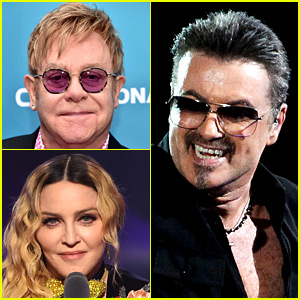 Elton John & Madonna Pay Tribute to George Michael