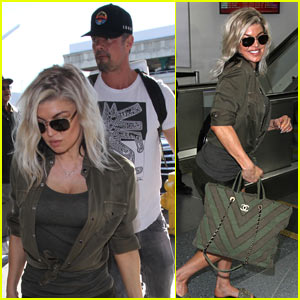 Fergie & Josh Duhamel Cozy Up in New Instagram Pic!