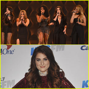 VIDEO: Fifth Harmony Steps in for Meghan Trainor at Billboard Women in Music Luncheon
