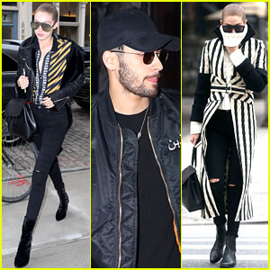 Gigi Hadid & Boyfriend Zayn Malik Step Out Separately in NYC