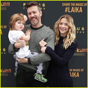 Jaime King Makes It A Family Affair At Magical LAIKA Experience!