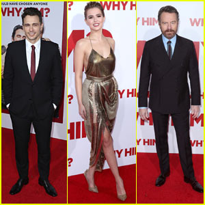James Franco, Zoey Deutch, & Bryan Cranston Premiere 'Why Him?'