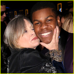 Star Wars' John Boyega Shares Touching Tribute for Carrie Fisher