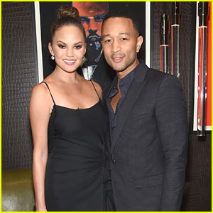 John Legend & Chrissy Teigen Show Off Their Sexy Style at 'Material Good' Anniversary Party