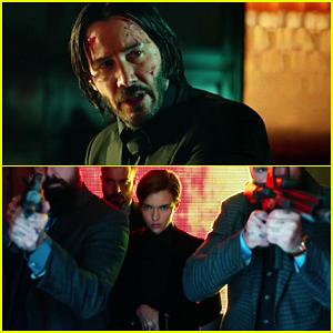 Video Keanu Reeves Ruby Rose S John Wick Chapter 2 Gets