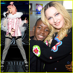 VIDEO: Madonna Covers Britney Spears' 'Toxic' at Raising Malawi Fundraiser