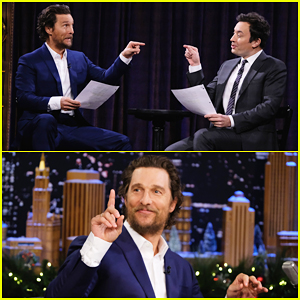 VIDEO: Matthew McConaughey & Jimmy Fallon Act Out Scripts Written By Kids On 'The Tonight Show'!