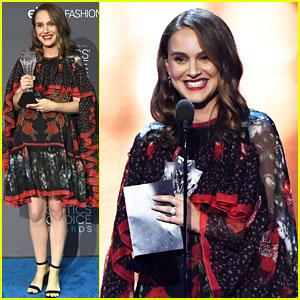 Natalie Portman Wins Best Actress at Critics' Choice Awards 2016!