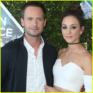 Patrick J. Adams & Troian Bellisario Tie the Knot!
