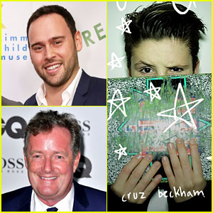 Scooter Braun & Piers Morgan Feud on Twitter Over Cruz Beckham