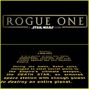 'Rogue One' Opening Crawl: Why Is the Intro Missing?