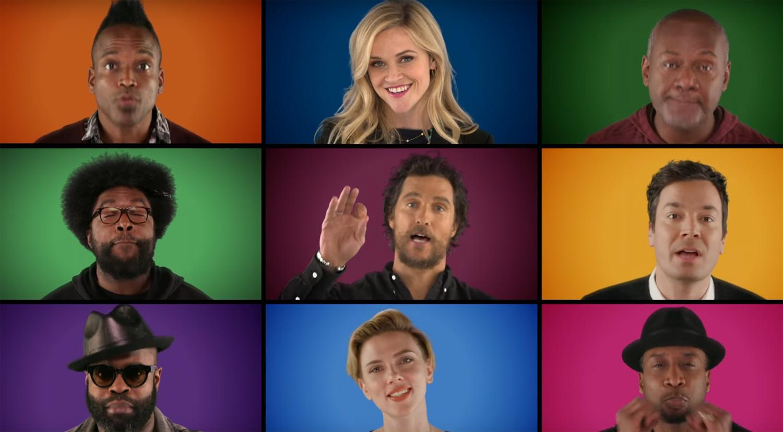 VIDEO: 'Sing' Movie Cast & Jimmy Fallon Sing 'Wonderful