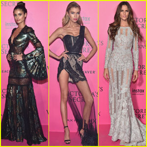 Taylor Hill, Stella Maxwell, & More Party It Up After Victoria's Secret Fashion Show 2016