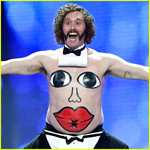 VIDEO: T.J. Miller Makes Bizarre Shirtless Entrance for Critics' Choice Awards Monologue