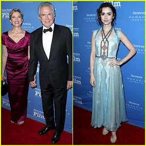 Annette Bening Helps Honor Hubby Warren Beatty at Santa Barbara Film Fest!