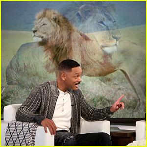 VIDEO: Will Smith Is Convinced There Are Lions in His Backyard