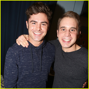 Zac Efron Visits Ben Platt At His Hit Brodway Musical 'Dear Evan Hansen' - See The Pics!