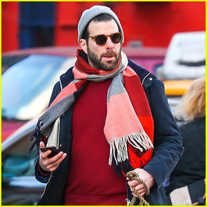 VIDEO: Zachary Quinto Might Have a New Career Path as a Banjo Player!