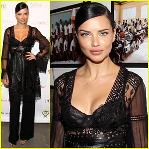 Adriana Lima's Positive Message To Young Girls: 'Just Embrace Yourself'!