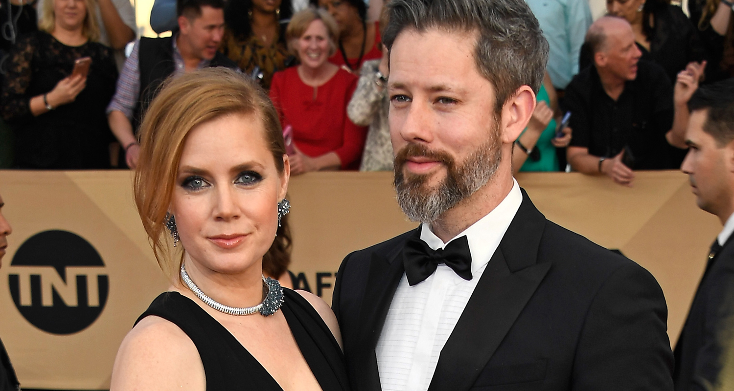 Amy Adams Husband Darren Le Gallo Couple Up At Sag Awards 2018 Just Jared