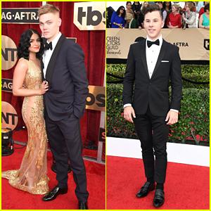 Ariel Winter Brings Boyfriend Levi Meaden To SAG Awards 2017